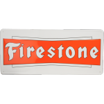 Metal Sign Firestone Bowtie