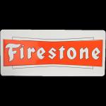 Metal Sign Firestone Bowtie