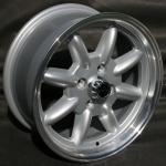 7,0x15 ET0 Max Minilite Design poliert LK 4x114,3 Datsun 240/260280Z