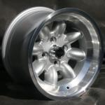 8,0x13 ET-6 Max Minilite Design silber / poliert LK 4x100