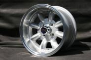 7,0x13 ET-7 Max Minilite Design silber / poliert LK 4x108 Ford