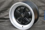 8,0x15 ET10,6 Max Fuchs Design schwarz / poliert LK 5x130