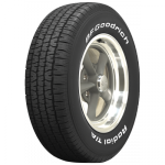 P235/60R15 98S TL BFGoodrich M+S Radial T/A white letter