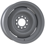 8.0x16 Hot Rod steel wheel primed Multilug 5x4 1/2, 5x4 3/4 Backspace 4.00´´