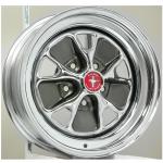 7.0x15 Mustang Styled Steel Lochkreis 5x4 1/2´´ Backspace  4.25´´