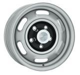 7.0x15 Pontiac Rallye I silver Lochkreis 5x4 3/4  -  Backspace 4,25´´