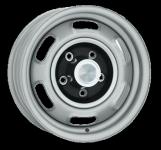 7.0x14 Pontiac Rallye I silver Lochkreis 5x4 3/4  -  Backspace 4,25´´