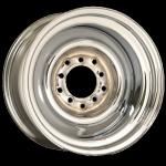 5.0x15 Smoothie Stahlfelge TL Chromed Doppellochkreis 5x4 1/2 - 4 3/4 Backspace 3´´
