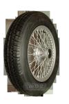 XW450S Speichenrad 4.0x15 MWS silber 155R15 82S Firestone F560 Komplettrad incl. Wuchten und ZV-Wuchtung