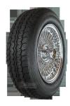 XW457C Speichen-Komplettrad 5.5x15 chrom 185/70R15 89H TL Vredestein Sprint Classic, montiert und gewuchtet