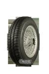 XW466S Speichenrad 4.5x13 MWS silber 155/80R13 78T Kleber Viaxer Komplettrad inkl. Montage und Wuchtung