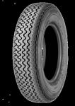 180R15 89H TT Michelin XAS 180R380, 180/80R15