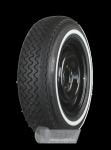 165R13 82H TT Michelin XAS ca. 20mm MOR-Classic Weißwand