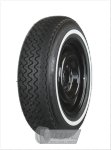 165R13 82H TT Michelin XAS ca. 20mm MOR-Classic Whitewall