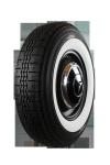7.25R13 90S TT Michelin X-Stop ca. 60mm MOR-Classic Weißwand