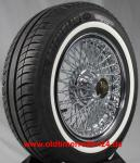 185/70R14 88H TL Michelin Energy Saver + ca. 20mm MOR-Classic Weißwand