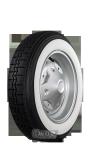125R12 62S TT Cinturato CN 54 ca. 45mm  MOR-Classic whitewall