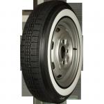 155R15 82T TL Michelin X ca. 40mm MOR-Classic Weißwand