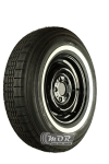 7.25R13 90S TT Michelin X-Stop ca. 25mm MOR-Classic Weißwand