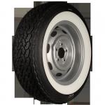 205/70VR15 90W Michelin XWX ca. 50mm MOR-Classic Weißwand