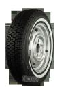165R15 86S TL Michelin XZX  ca. 20mm MOR-Classic Weißwand