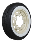 155R15 82S TL Vredestein Sprit Classic 50mm MOR-Classic whitewall