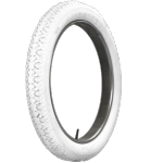 30X3 1/2 TT Firestone 4PR Wulst weiss all white