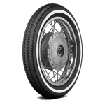 3.25-16 48P TT Firestone Champion Deluxe Whitewall 5/8´´