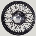 3.25X18 WW-5925 TT, black painted, R72, 70 spokes Vintage One-piece Plain Hub MWS