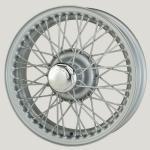 4.0X15 XW450 TL, silber, R42, 48 Speichen Curly Hub MWS