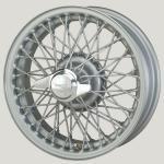 4.5X15 XW-452 TL, silver painted, R42, 60 spokes Curly Hub MWS