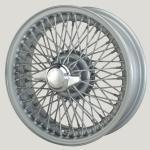 5.5X15 XW-457 TL, silver painted, R42, 72 spokes Curly Hub MWS