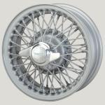 4.5X13 XW-466 TT silver painted, R42, 60 spokes Curly Hub MWS