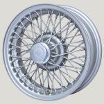 4.5X14 XW-515 TT, silver painted, R42, 60 spokes Curly Hub MWS