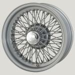 6.0X15 XW-5726 TL, silver painted, R42, 70 spokes Curly Hub