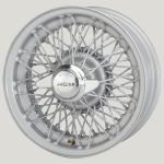5.5X15 XW-5744 TL, silver painted, R52, 72 spokes Curly Hub Competition lacing, MWS