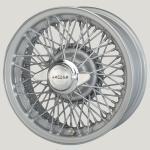 6.0X15 XW-5745 TL, silver painted, 72 spokes Curly Hub MWS