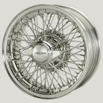 6.0X15 XW5745 TL, stainless steel R52, 72 spokes Curly Hub MWS