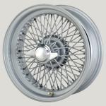 6.0X16 XW-5770 TL, silver painted, R42, 72 spokes Curly Hub MWS