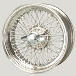 6.0x16 XW-5770 TL Stainless steel, R42, 72 Spokes Curly Hub MWS