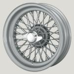 4.5X16 XW-5783 TT, silver painted, R42, 60 spokes Curly Hub MWS