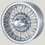 5.0X13 XW-5785 TL silver painted, R42, 60 Spokes Curly Hub MWS