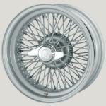 5.5X15 XW-5787 TL, silver painted, 72 spokes Curly Hub MWS