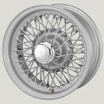 5.5x13 XW-5797 TL silver painted, R42, 60 spokes Curly Hub MWS