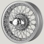 5.0X16 XW-5960 TL, silver painted, R52, 60 Spokes MWS