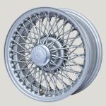 5.5X14 XW-5714 TT, silver painted, R42, 72 spokes Curly Hub MWS