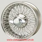 6.0X15 XW474 TL, Stainless Steel, R52, 72 Speichen Flat Hub (Easy Clean) MWS