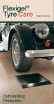 Flexigel® Tyre Care, Carbonoptik, Gr. L Reifenschoner in Carbonoptik Größe: 430x400x25 mm 1 Satz = 4 Stück