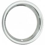 Trim Ring - 15 Inch x 3´´ Round SS Steel 3´´ deep Stainless Steel 3002-1