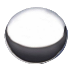 Baby Moon Cap plain 7 1/2´´ back I.D. SKU: 1009